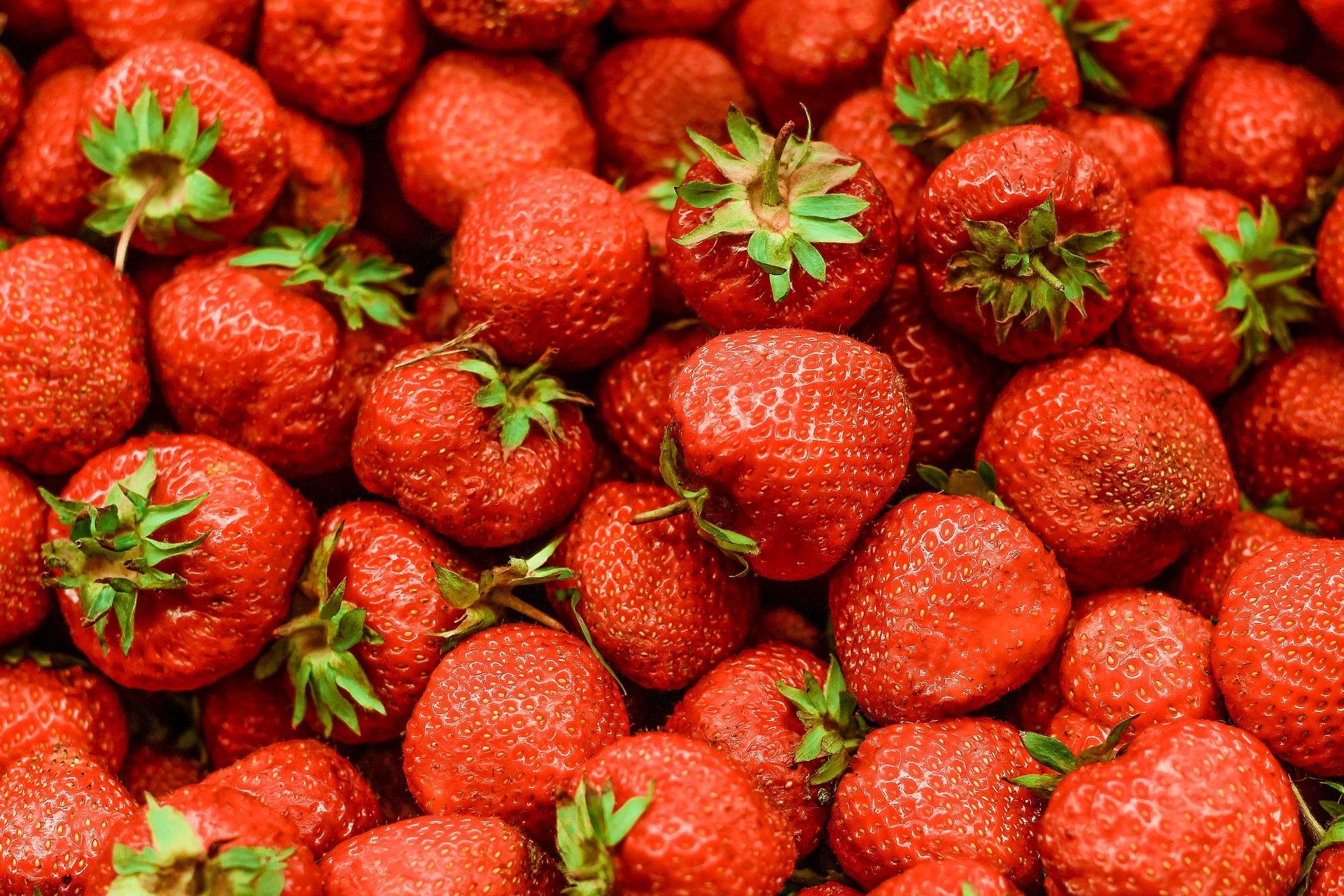 イチゴ, フルーツ, 赤, 数量, 明るさ - HD の壁紙 - 教授-falken.com