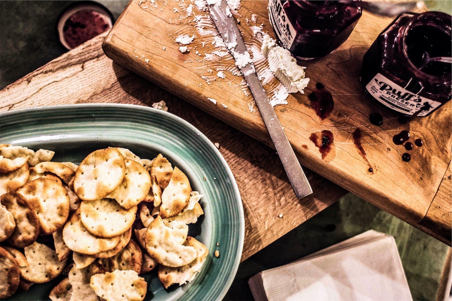 печенье, соленый, Джем, Малина, столы, нож - Обои HD - Профессор falken.com