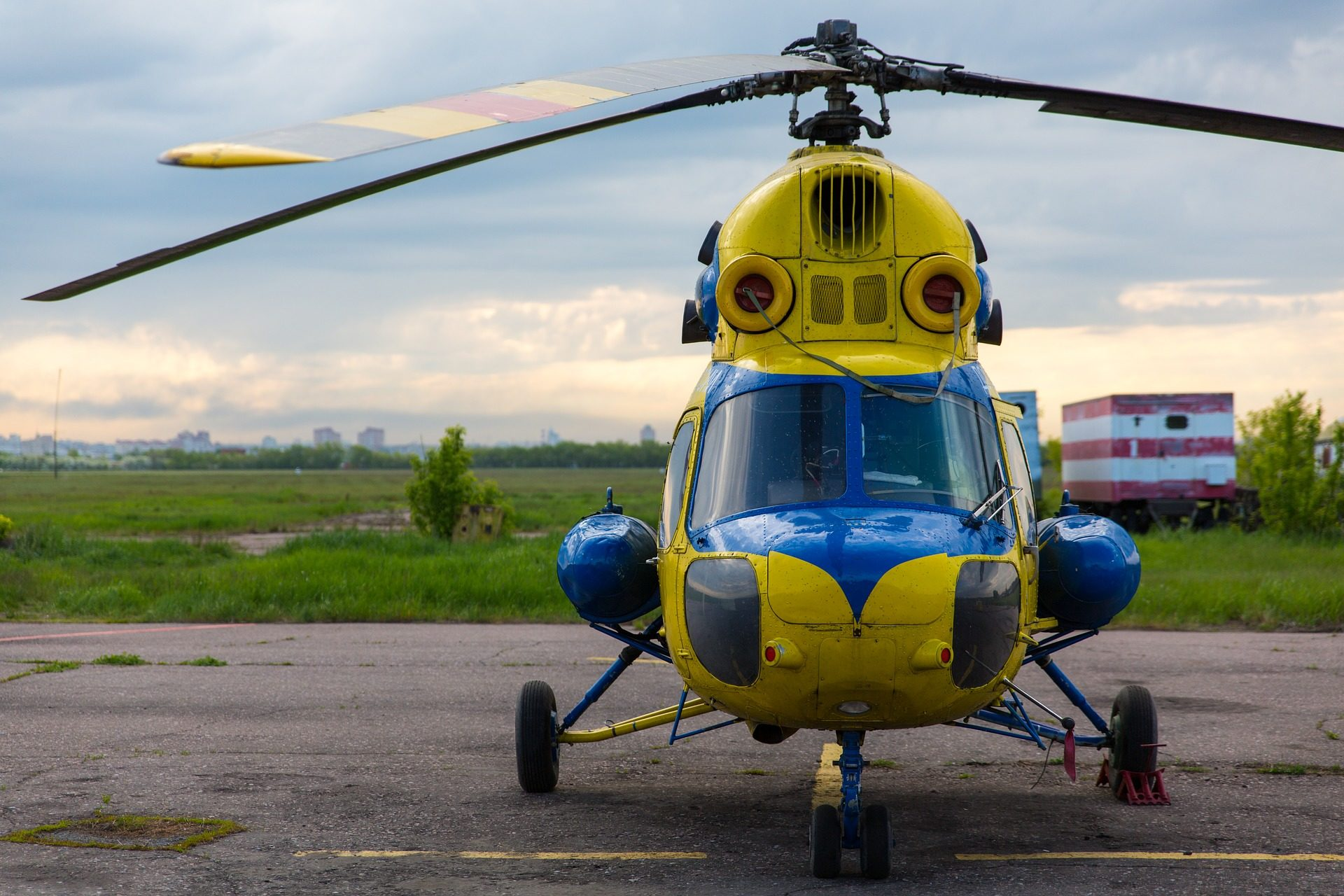 helicóptero, voar, hélices, cabine, rotor - Papéis de parede HD - Professor-falken.com