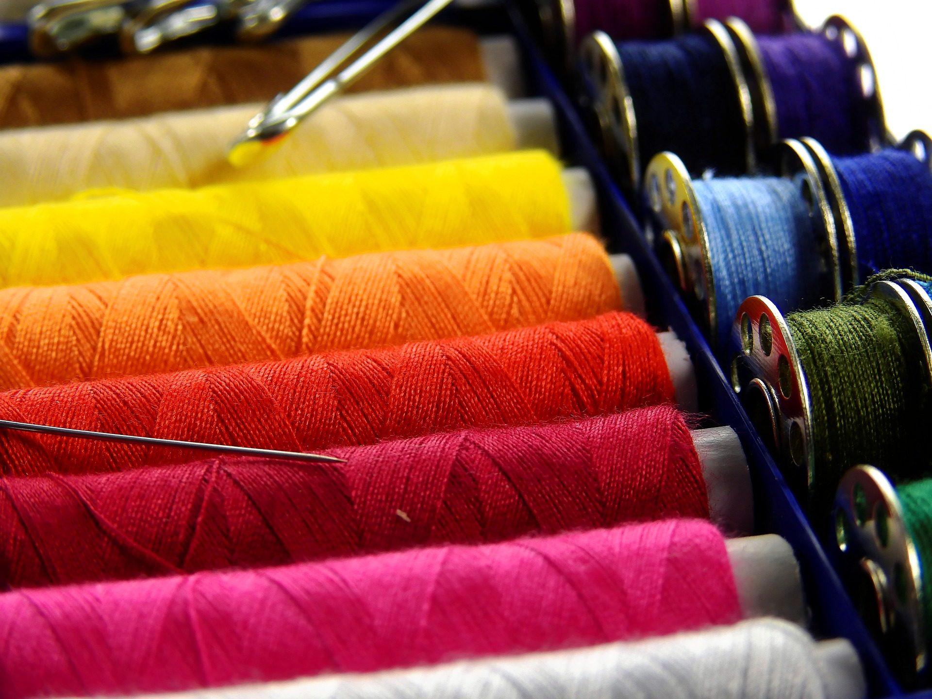 Discussioni, colori, aghi, CANILLAS, costura, di cucito - Sfondi HD - Professor-falken.com