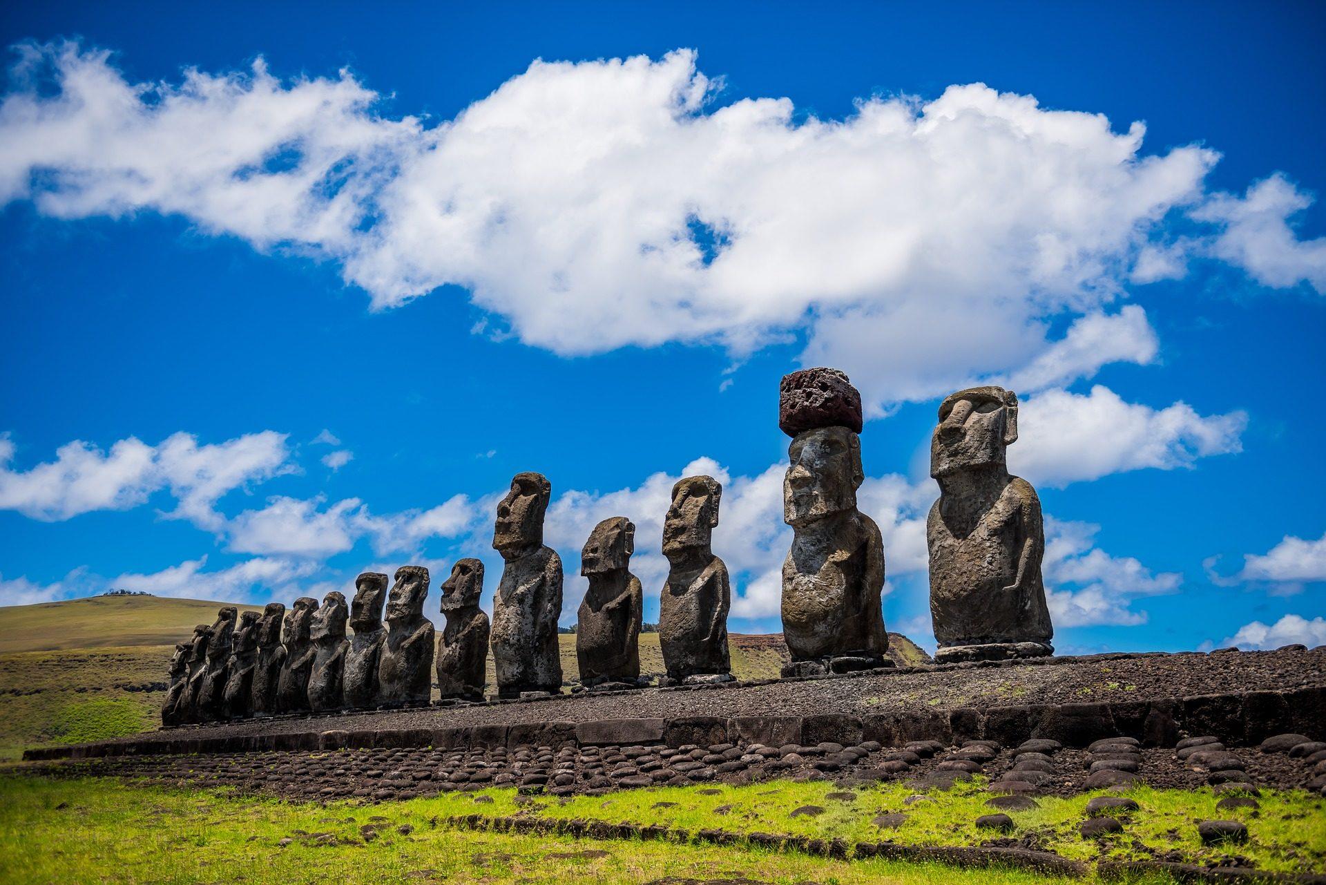 Остров Пасхи, Рапа-Нуи, тотемы, статуэтки, скульптуры, предки - Обои HD - Профессор falken.com