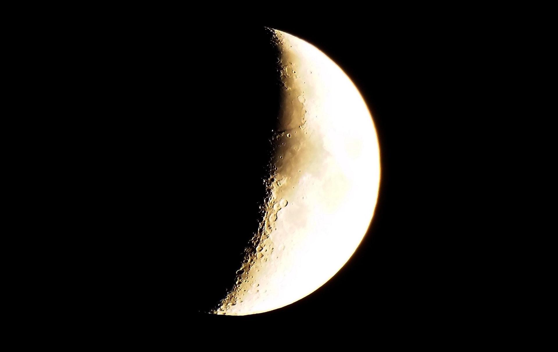 القمر, سطح, فوهة البركان, الظل, تزايد - خلفيات عالية الدقة - أستاذ falken.com