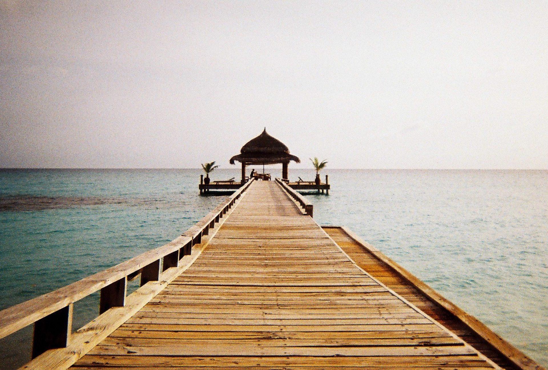 Мальдивские острова, Пляж, Порт, Вуд, Отдых, расслабиться - Обои HD - Профессор falken.com