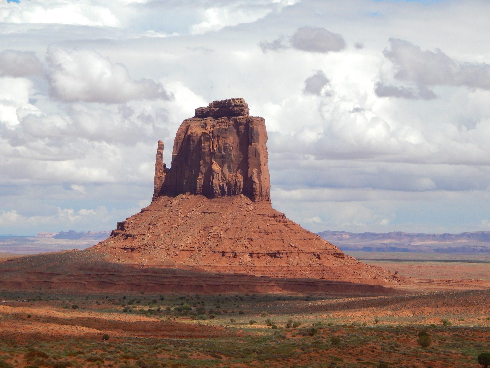纪念碑谷, 沙漠, 山, 沙子, 天空 - 高清壁纸 - 教授-falken.com