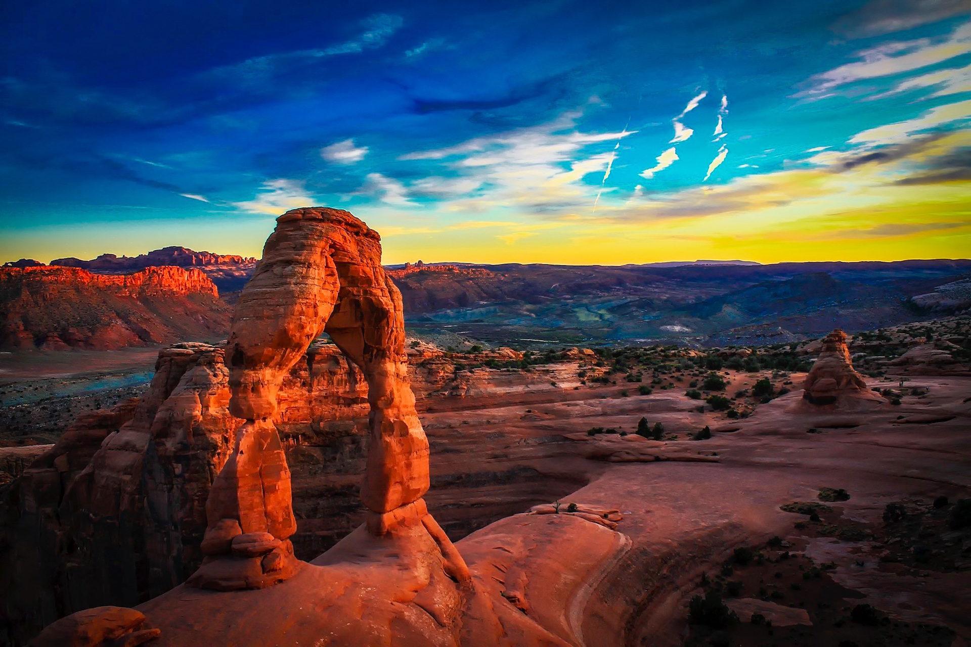 Парк, Национальный, арки, Юта, пустыня - Обои HD - Профессор falken.com