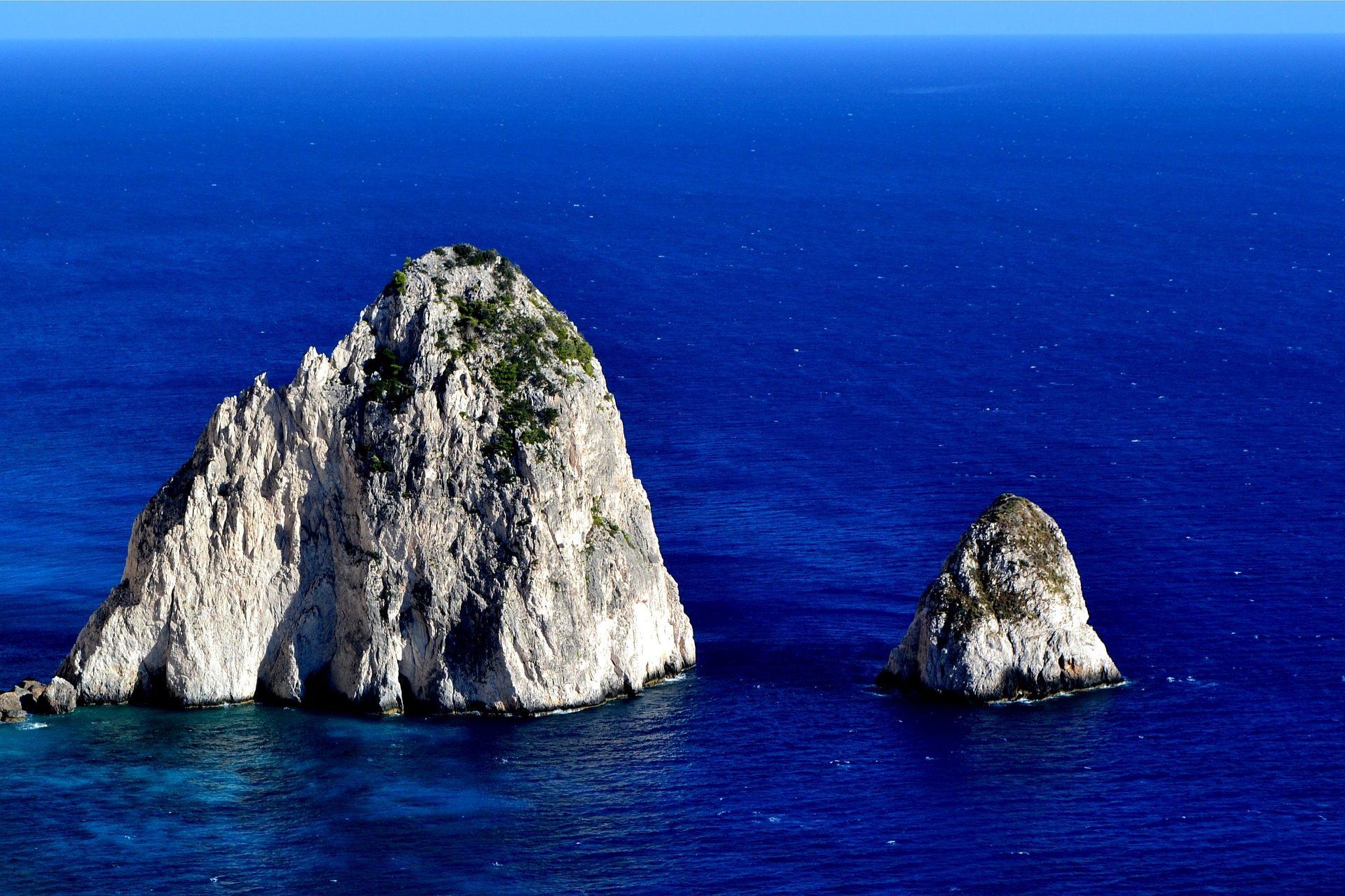 pedras, Rocas, Ilhas, Zakynthos, Sua - Papéis de parede HD - Professor-falken.com