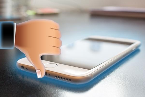 如何强制 iPhone 重启 7 或 7 再加上,已经离开你的反应