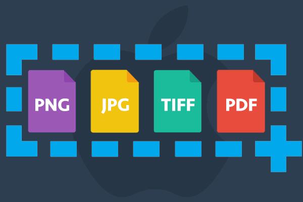 Come modificare il formato di file PNG screenshot sul vostro Mac