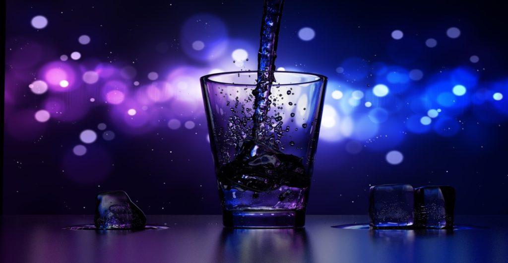 bebida, copa, bar, pub, noche, luces, hielo, 1612011122