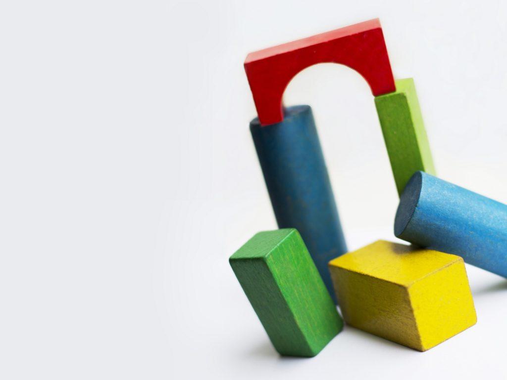 bloques, construcción, juego, niños, colorido, 1612082241