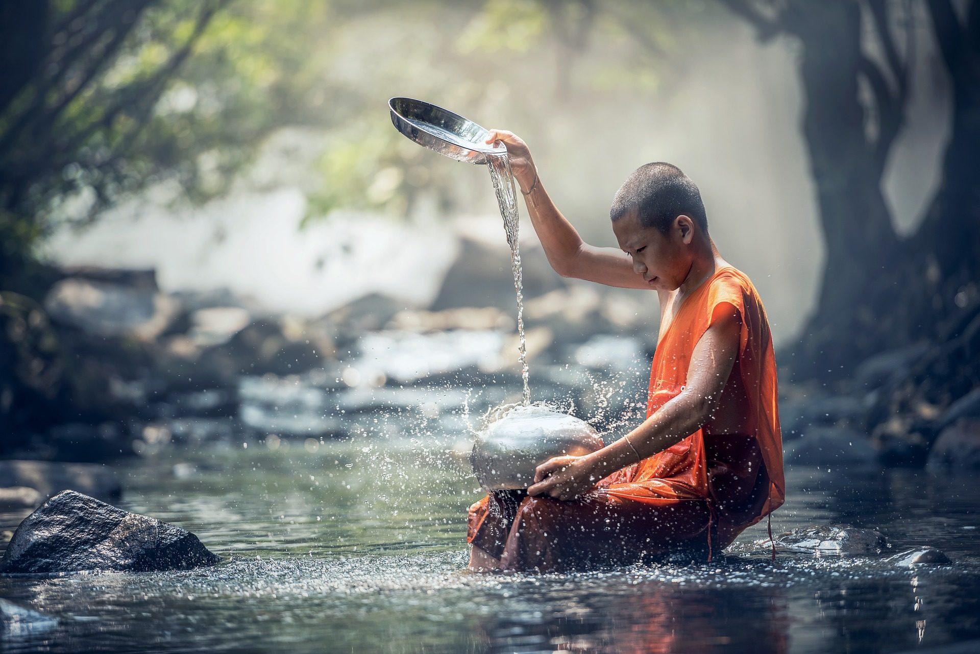 Ο τύπος, Ποταμός, Ο Βουδισμός, ζωή, θρησκεία, Ανατολική, Πνευματικότητα - Wallpapers HD - Professor-falken.com
