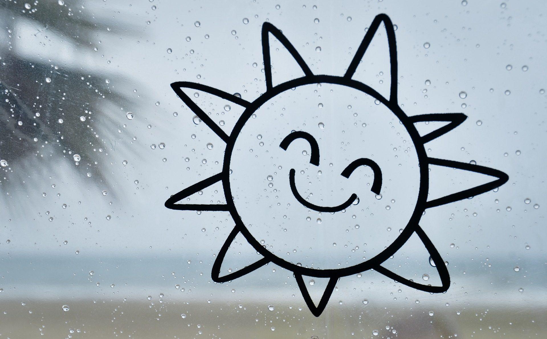 Кристалл, стекло, дождь, капли, Рисунок, Солнце, смех - Обои HD - Профессор falken.com
