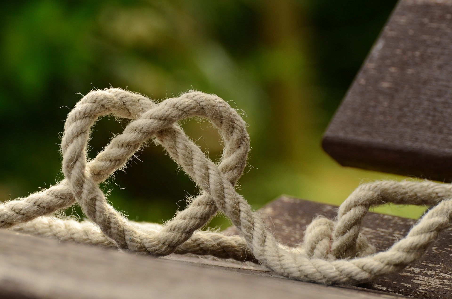 ロープ, 結び目, ループ, 心, 愛, 約束 - HD の壁紙 - 教授-falken.com