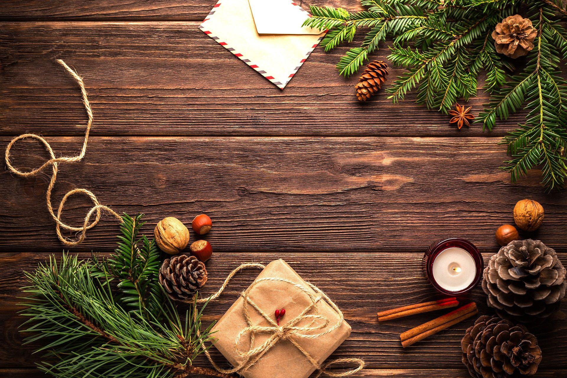 felicitación, tarjeta, cartas, deseos, madera, nuez, navidad - Fondos de Pantalla HD - professor-falken.com
