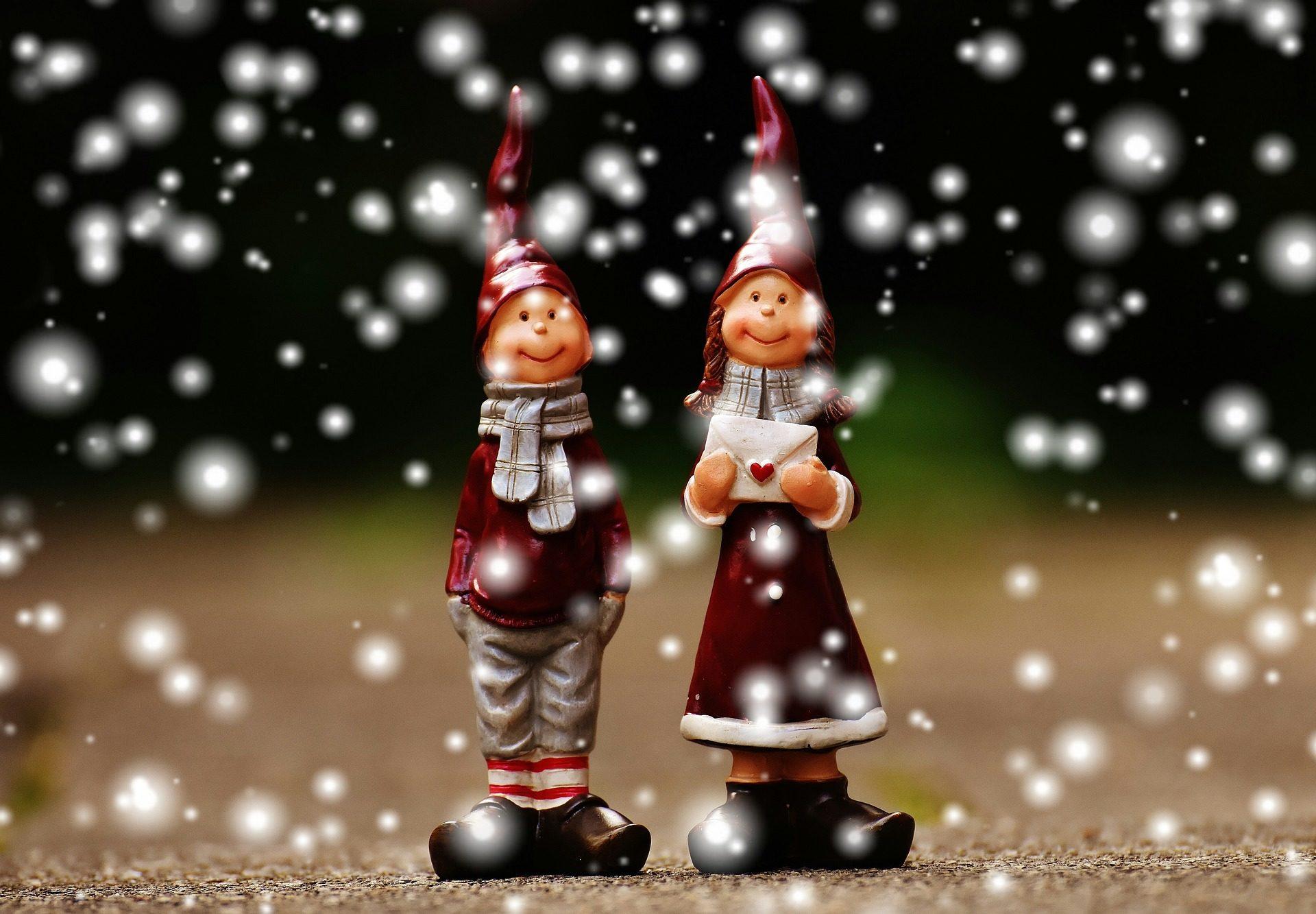 Zahlen, duentes, Schnee, Brief, paar, Weihnachten - Wallpaper HD - Prof.-falken.com