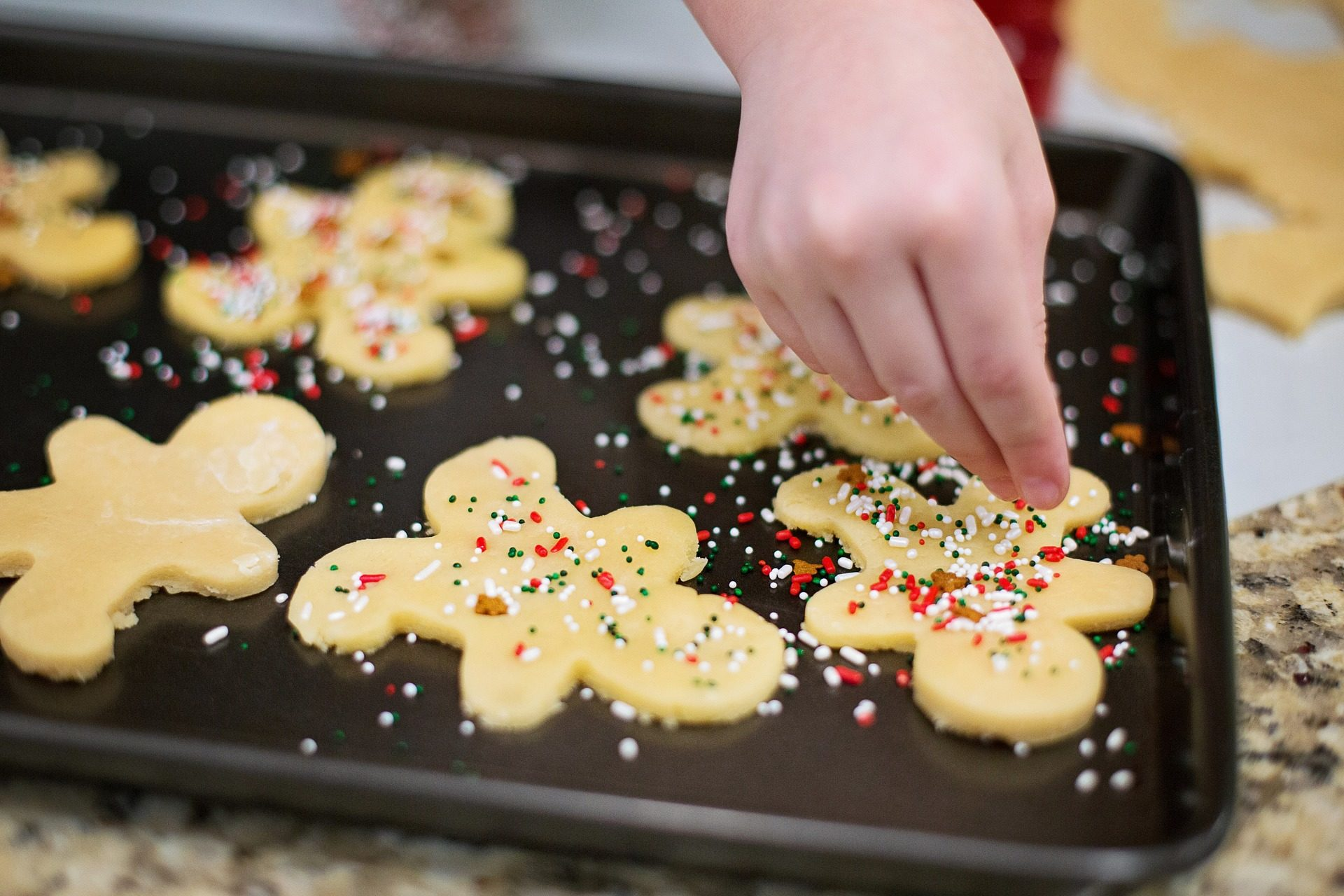 cookie, cucina, patatine fritte, colori, Natale, dessert - Sfondi HD - Professor-falken.com