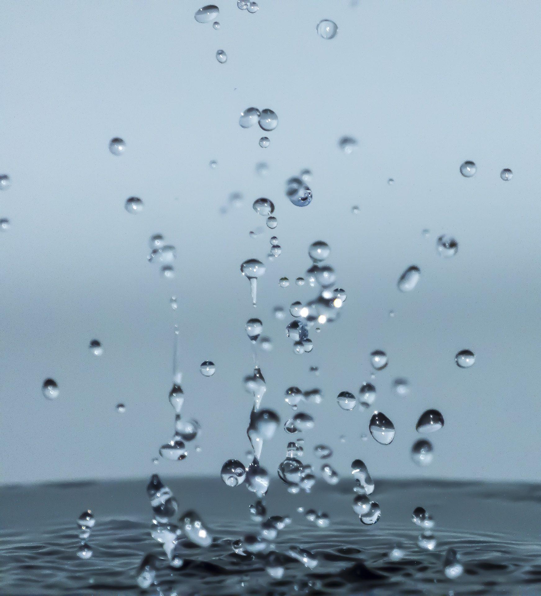 σταγόνες, νερό, βουτιά, βροχή, πτώση - Wallpapers HD - Professor-falken.com