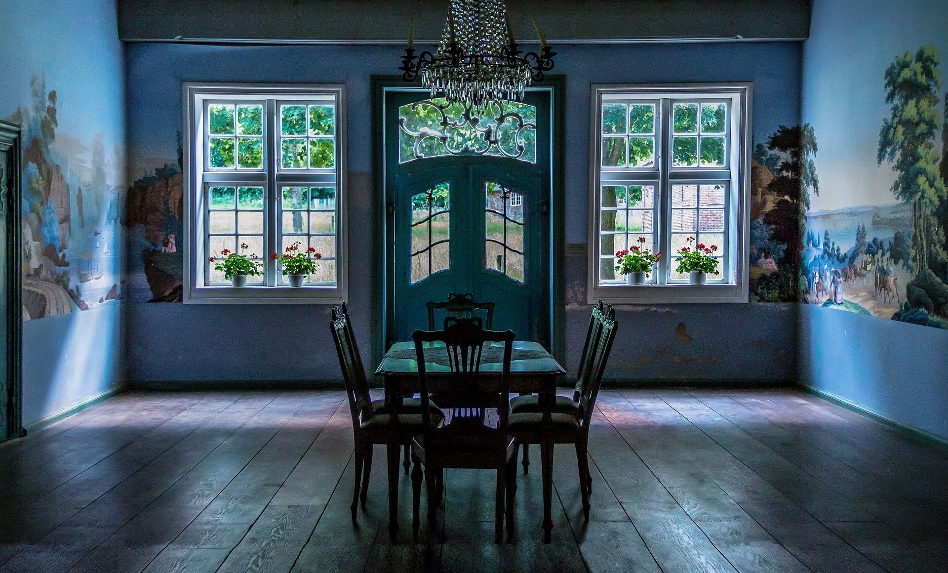 Zimmer, alt, Esszimmer, Tabelle, Stühle, Jahrgang - Wallpaper HD - Prof.-falken.com