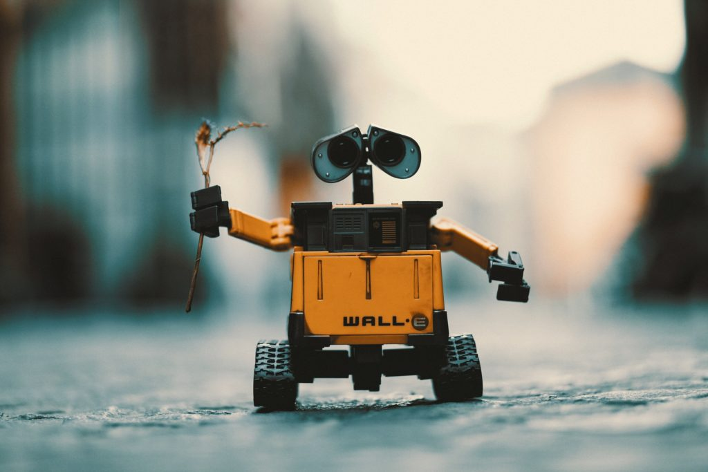 robot, walle, juguete, rama, regalo, 1612051311
