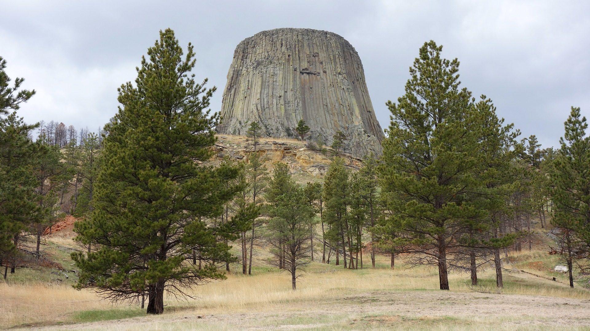 Roca, खंभा, कटाव, शैतानों टॉवर, राष्ट्रीय उद्यान - HD वॉलपेपर - प्रोफेसर-falken.com