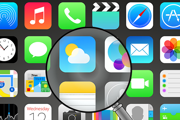 Πώς να aumentar el μέγεθος de los iconos de tu iPhone