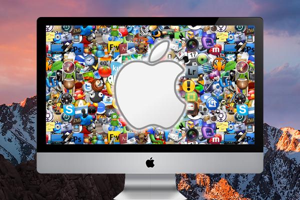Как скрыть быстро все значки с рабочего стола Mac