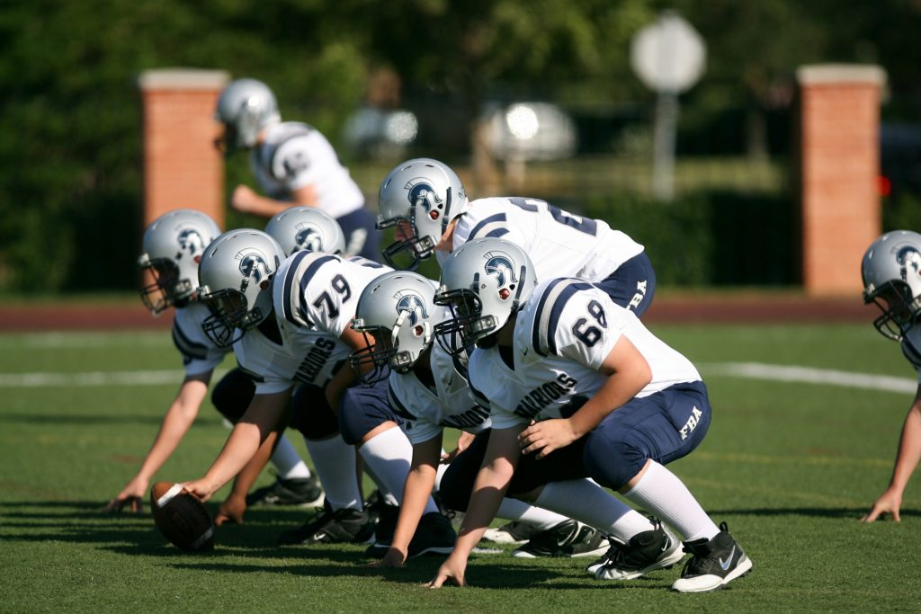 fútbol, americano, equipo, juego, competición, cascos, balón, campo, 1701201932