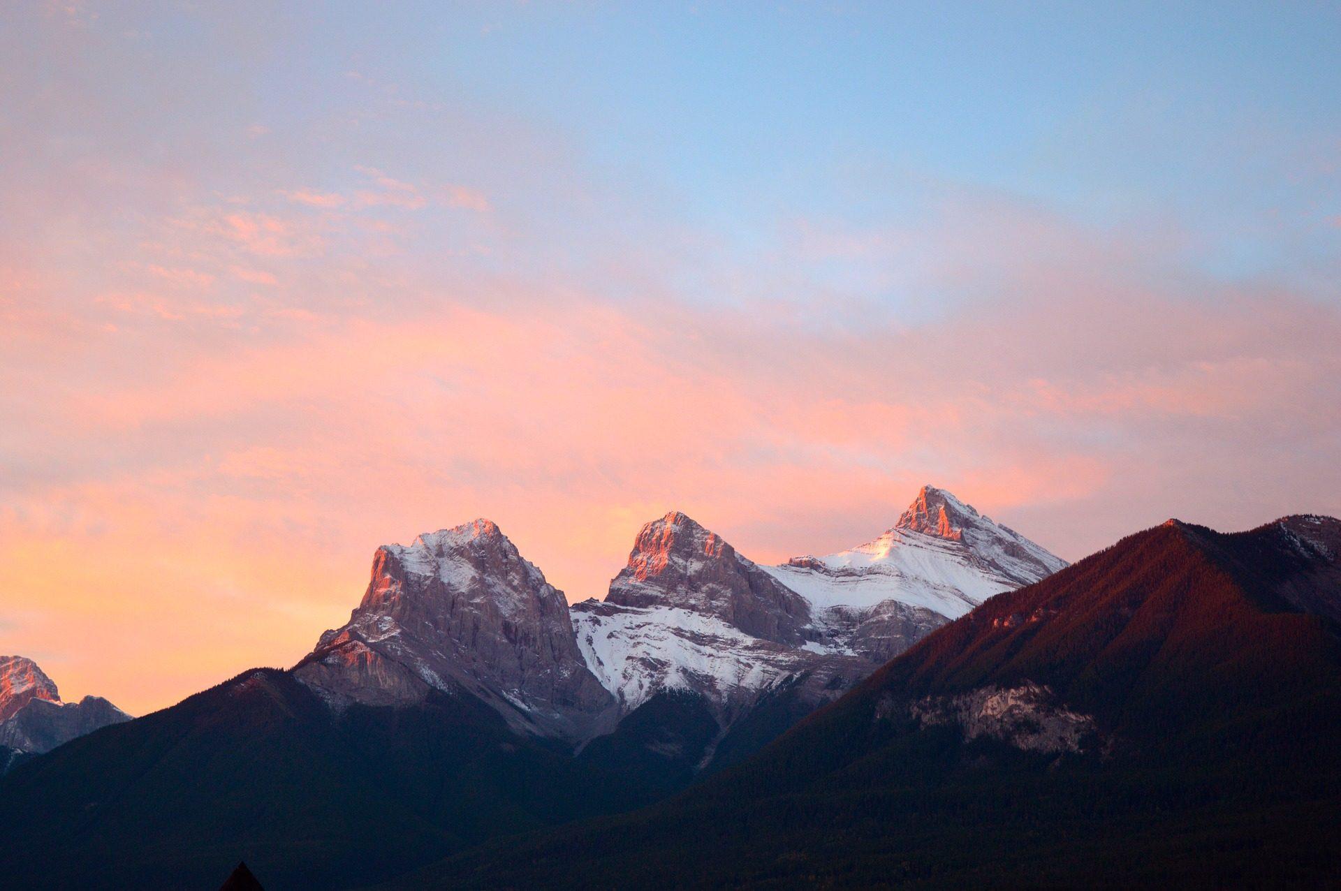 небо и горы картинки