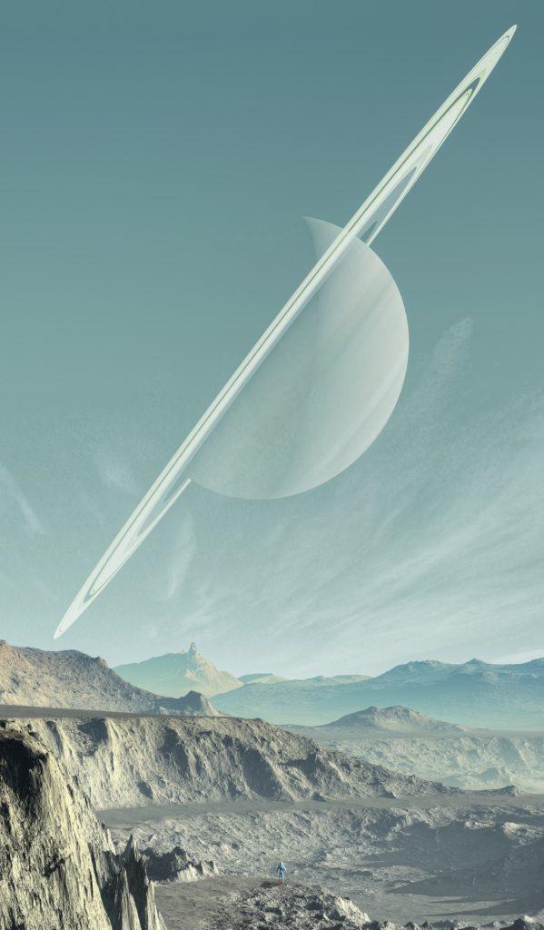 planeta, superficie, desierto, saturno, aro, 1701171105