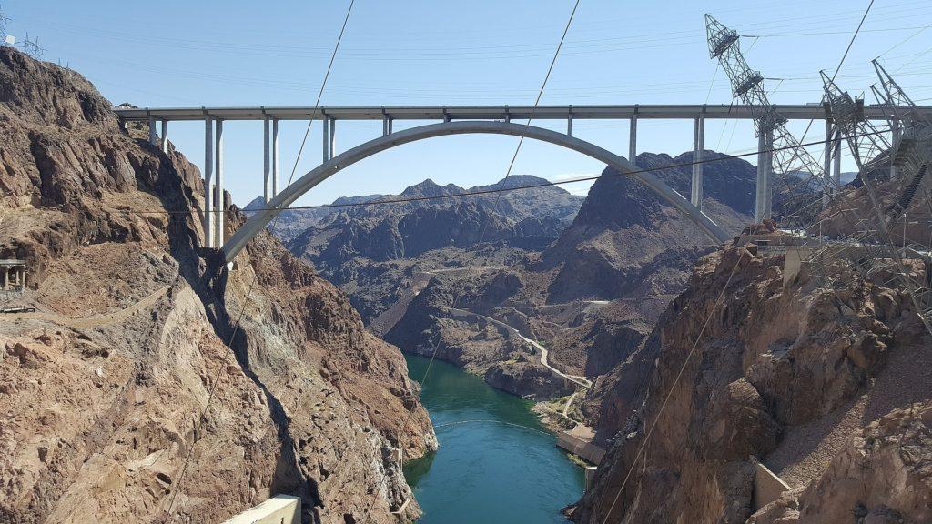 puente,  montañas, río, cañón, electricidad, cables, 1701302253