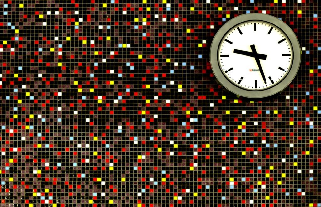 reloj, tiempo, pared, cuadrados, colorido, 1701211410