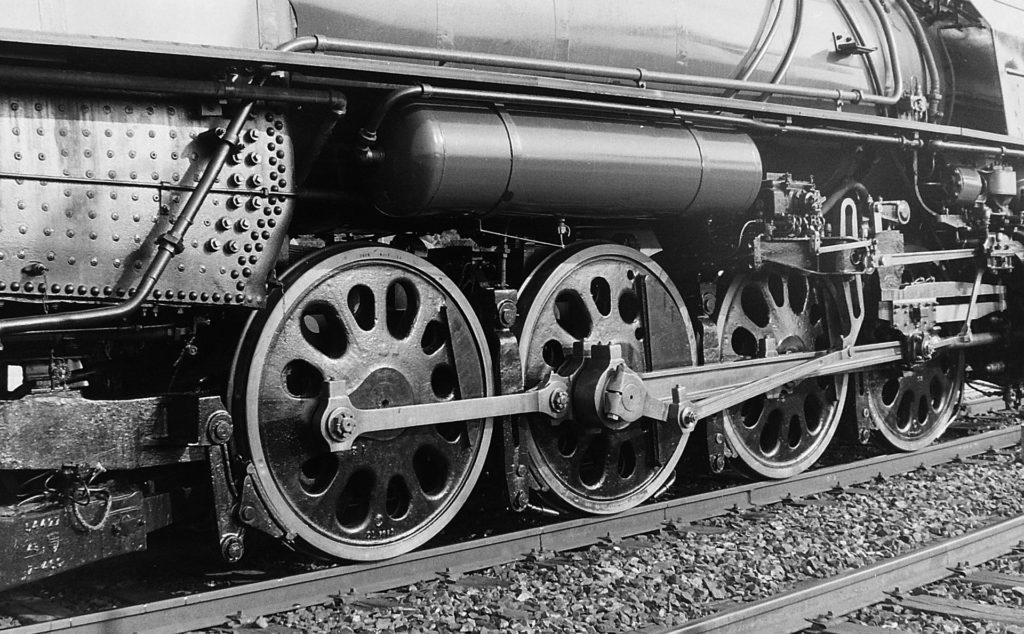 火车, 机车, 蒸汽, 车轮, Rails, 在黑色和白色, 1701231822