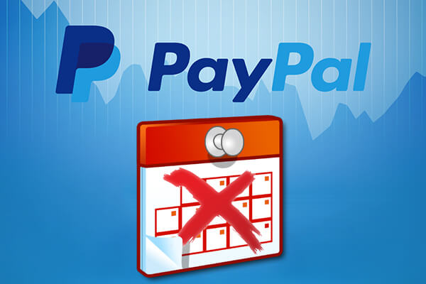 キャンセルまたは PayPal で定期支払いを無効にします。
