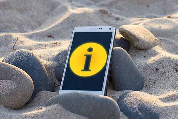 Wie man eine informative Meldung auf Ihrem Bildschirm Android sperren