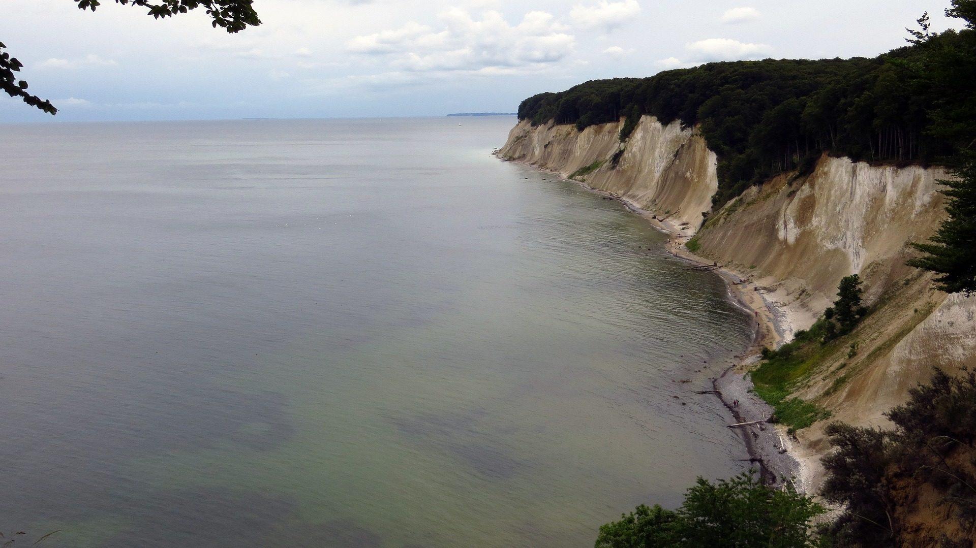 Cliff, Mar, altura, Rugen, Alemanha - Papéis de parede HD - Professor-falken.com