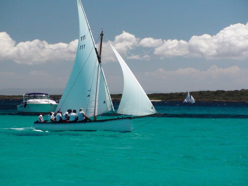 bateau, bougie, Mer, cristalino, Turquoise, vent, 1702231936