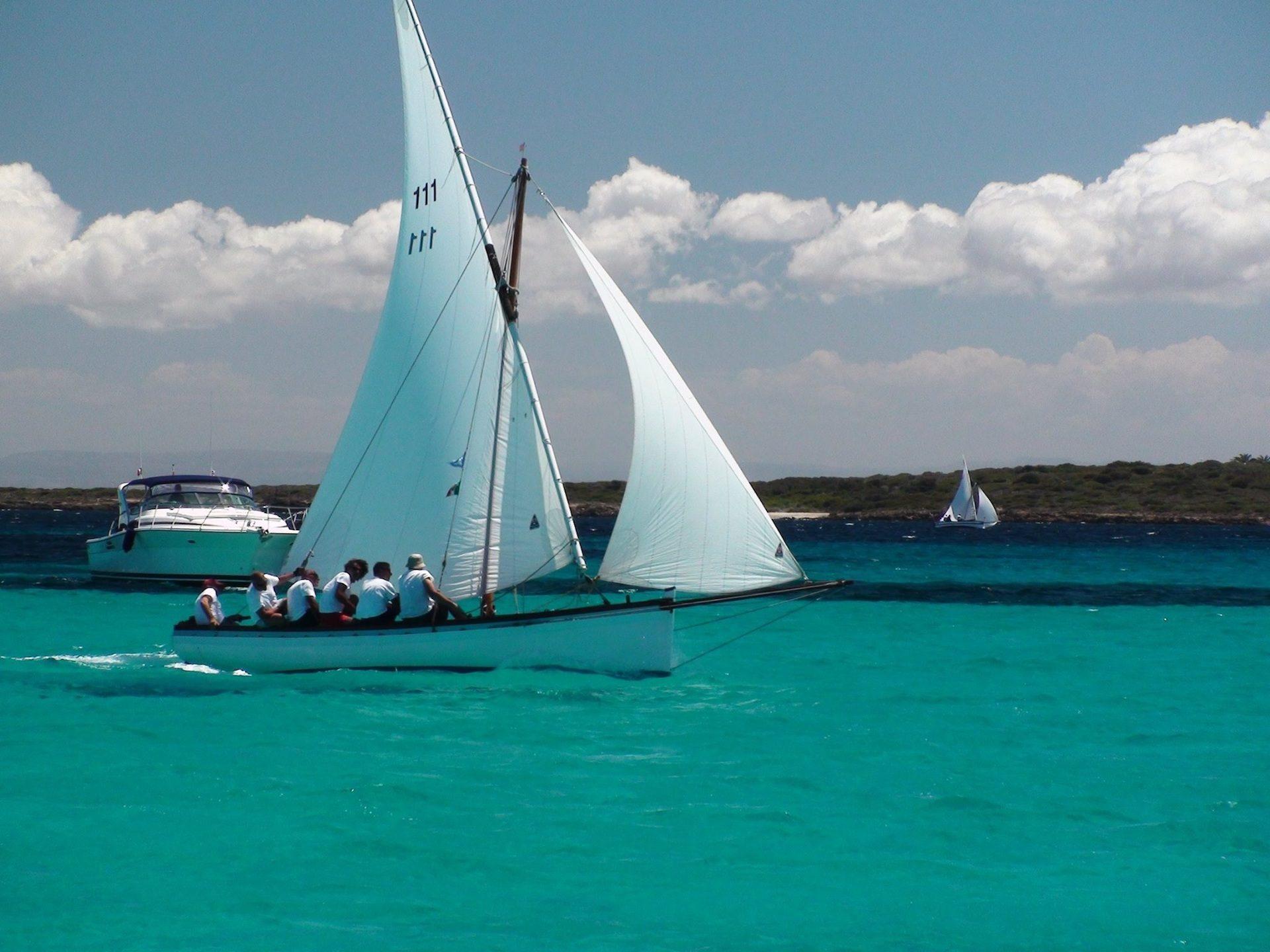 barco, vela, mar, cristalino, turquesa, viento - Fondos de Pantalla HD - professor-falken.com