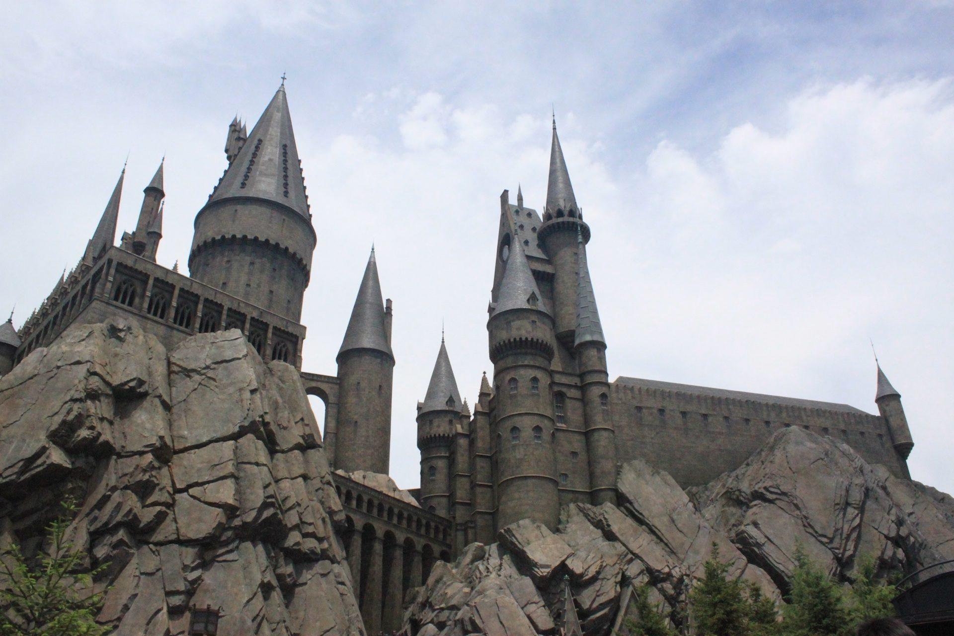 castillo, القلعة, الأحجار, الهندسة المعمارية, غامضة, هوجورتس, هاري بوتر - خلفيات عالية الدقة - أستاذ falken.com
