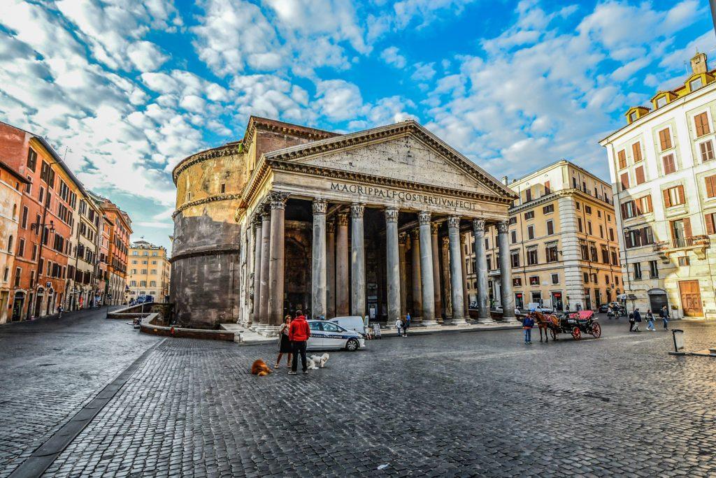 ciudad, arquitectura,  monumento, plaza, rotonda, panteón, roma, 1702171656