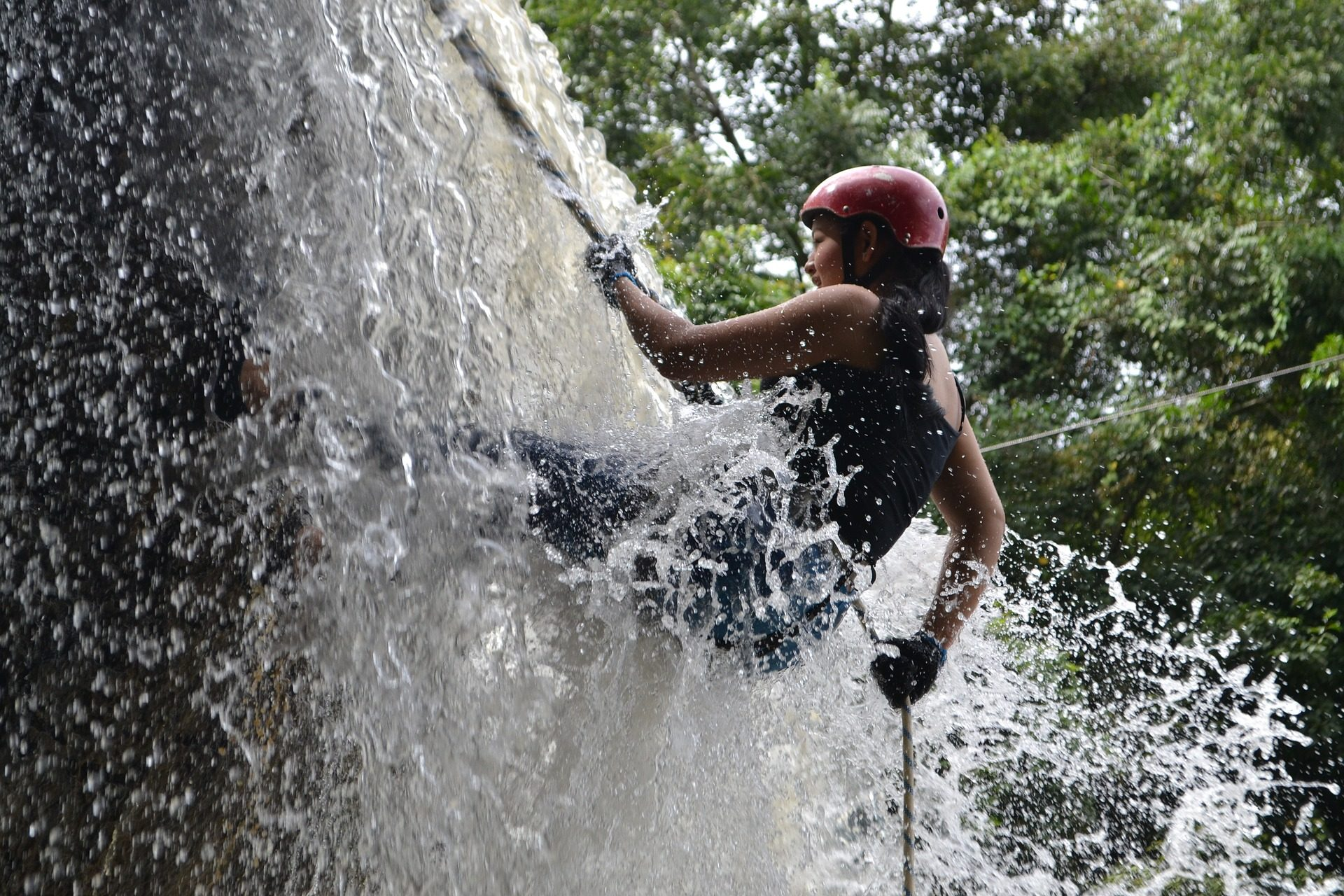 discesa, arrampicata, Cascate, acqua, Fiume, rischio - Sfondi HD - Professor-falken.com