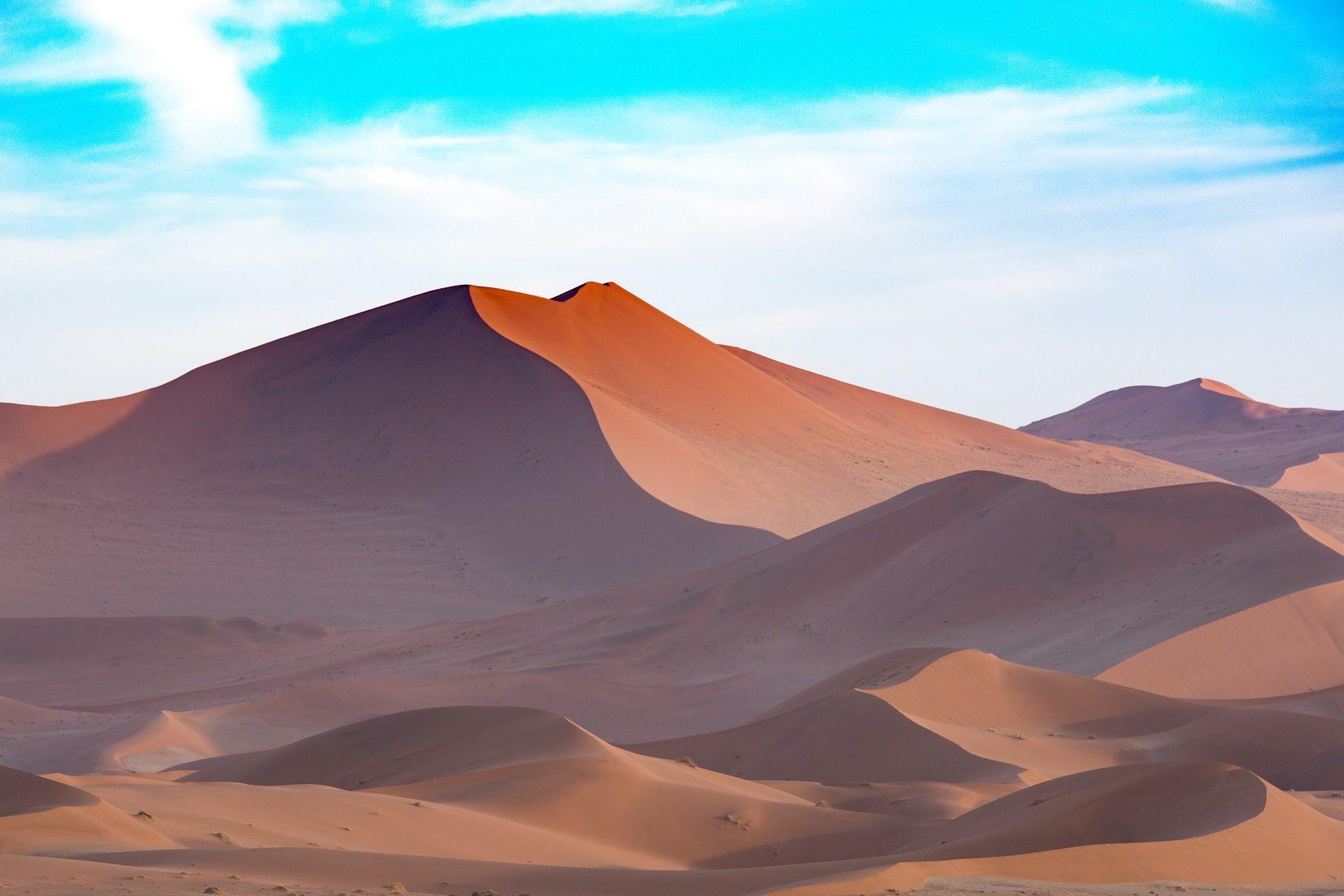 砂漠, 砂, ソレダ, 干ばつ, 空, ナミビア - HD の壁紙 - 教授-falken.com