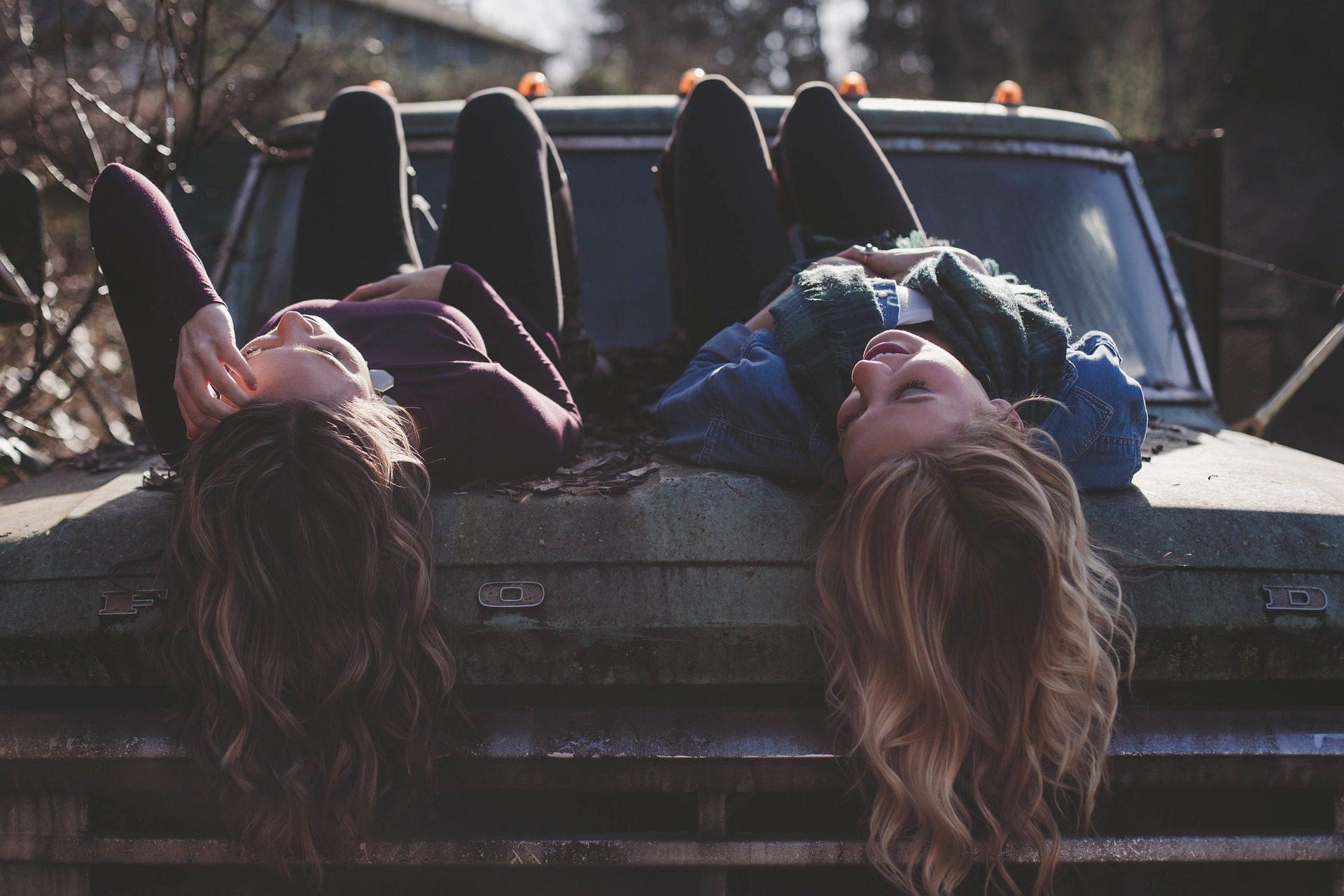 donne, amici, conversazione, auto, viejo, vecchio, sporco - Sfondi HD - Professor-falken.com