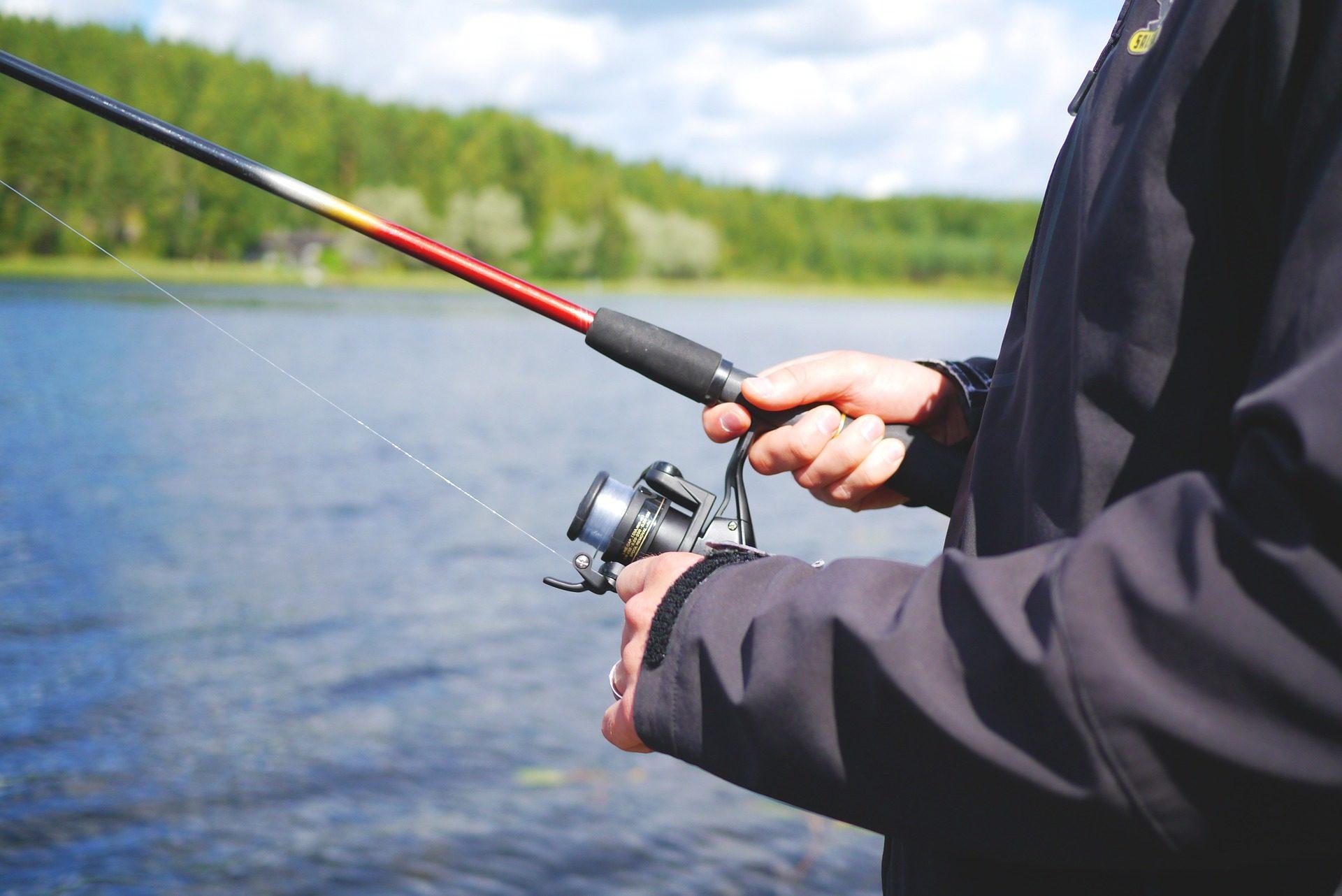 pescador, caña, lago, laguna, hobby - Fondos de Pantalla HD - professor-falken.com
