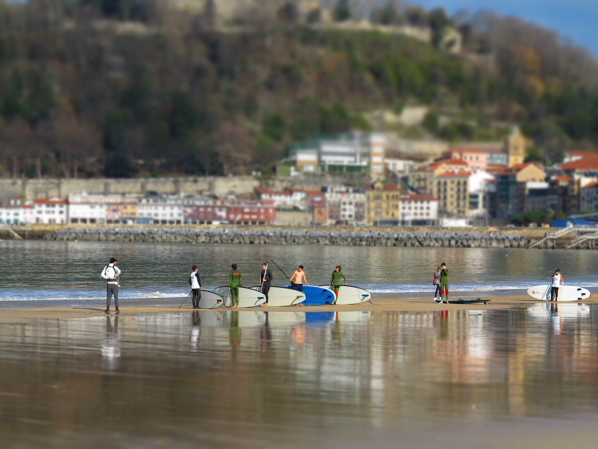 Strand, Surf, Meer, Dorf, Berg, Surfer - Wallpaper HD - Prof.-falken.com