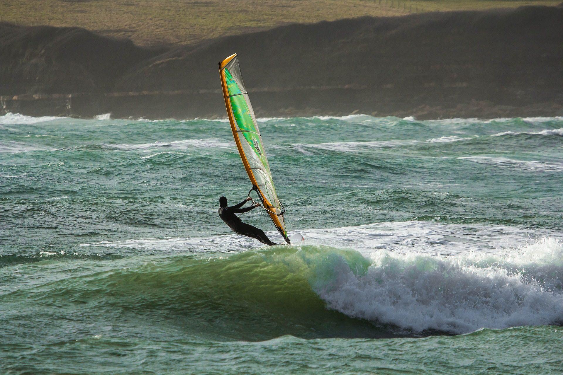 Surf, windsurf, ondas, Mar, risco, vento - Papéis de parede HD - Professor-falken.com