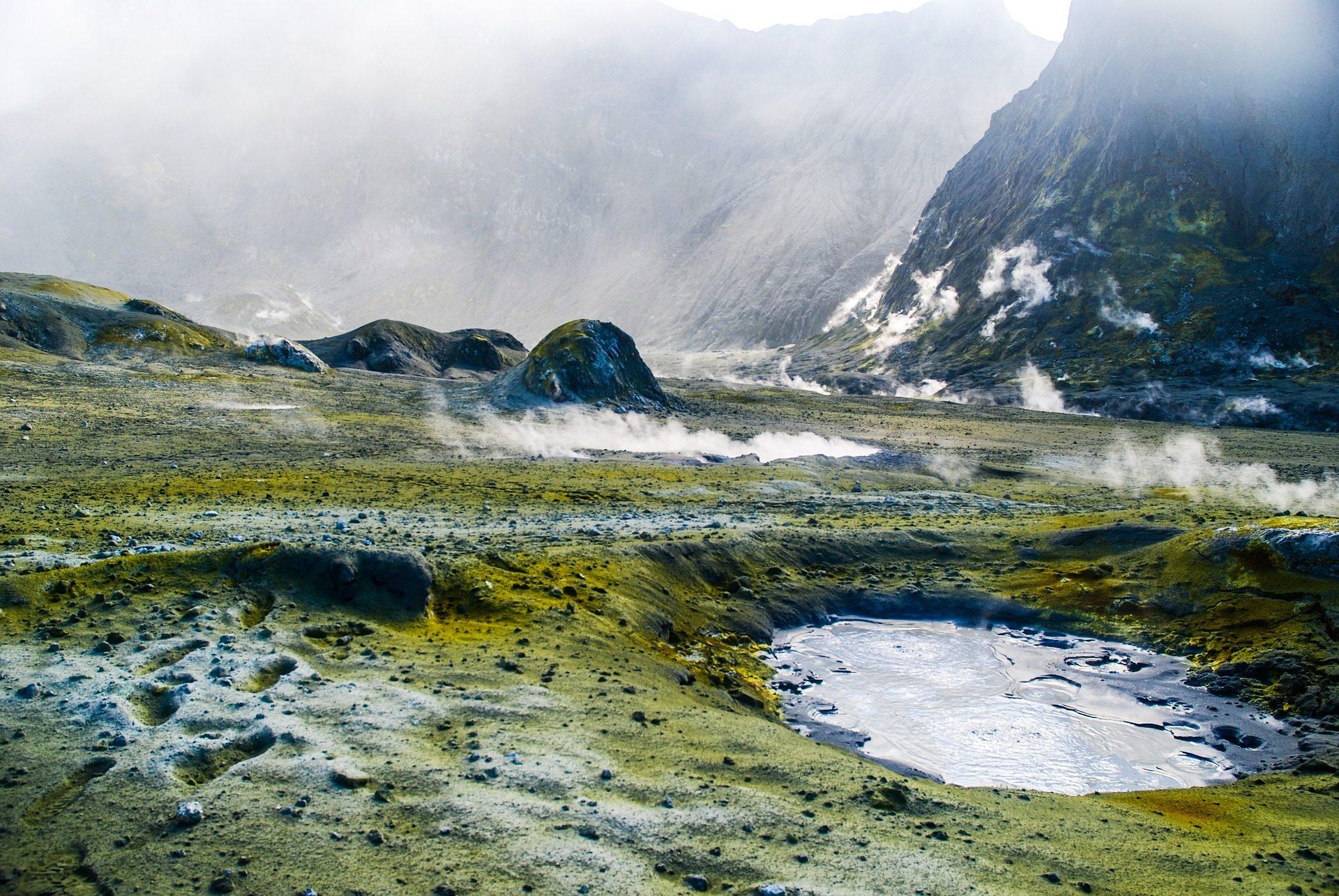 Vulcão, gêiser, Hot Springs, águas, térmica, quente, enxofre - Papéis de parede HD - Professor-falken.com