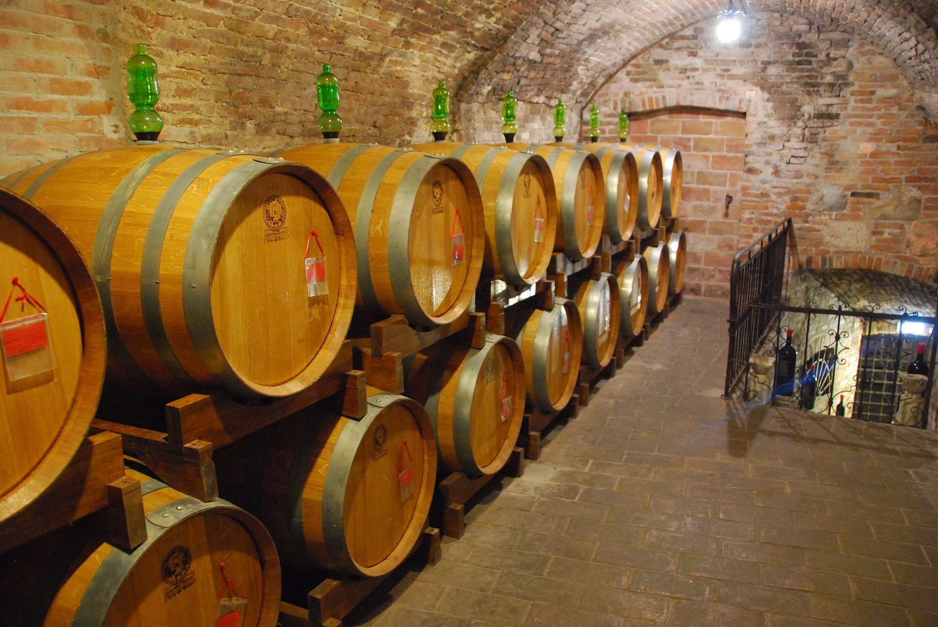 barriles, برميل, النبيذ, الخمرة, تخمير, توسكان - خلفيات عالية الدقة - أستاذ falken.com