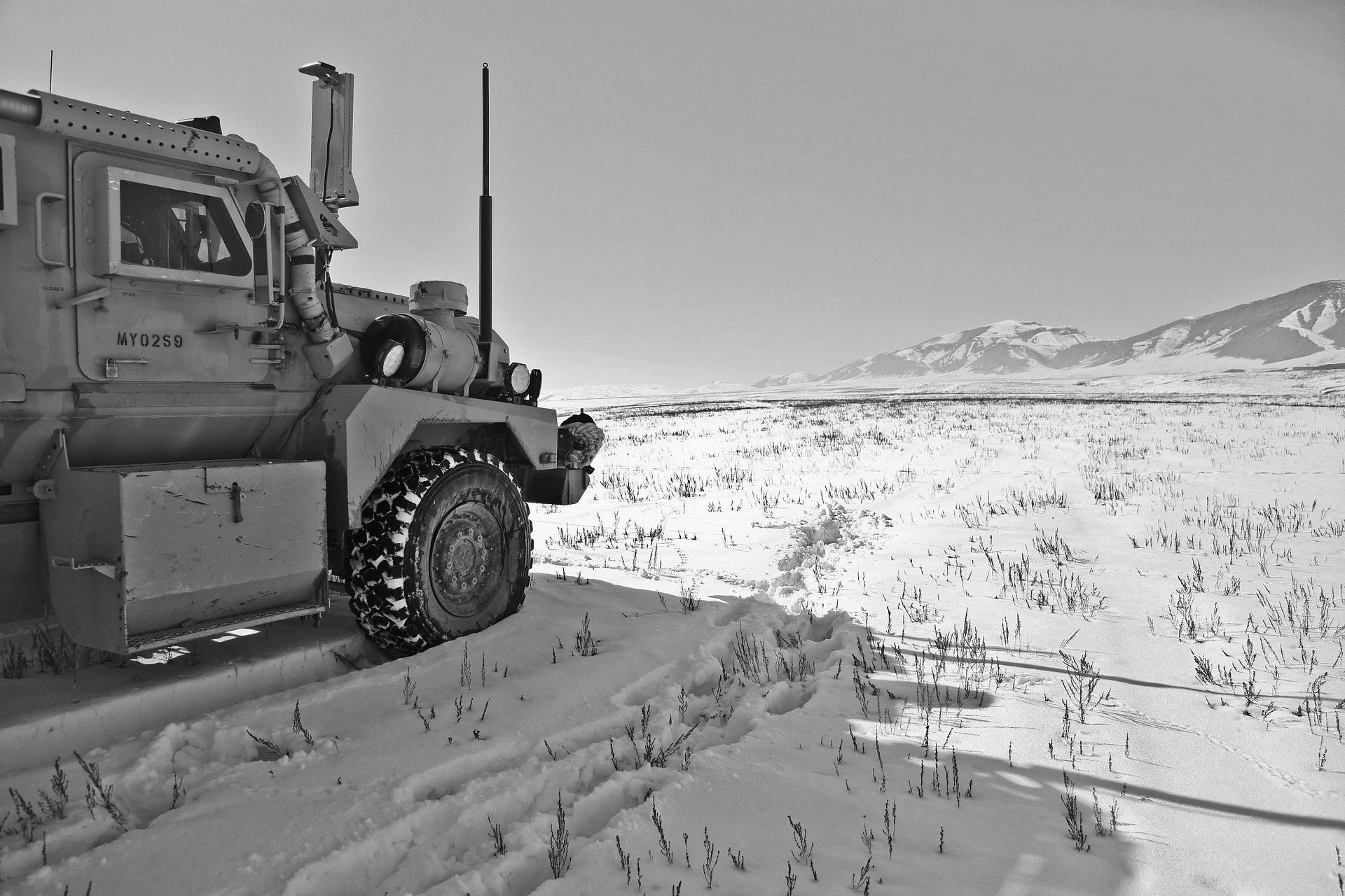 φορτηγό, Δρόμου, Νεβάδο, χιόνι, Χειμώνα, dificultad - Wallpapers HD - Professor-falken.com