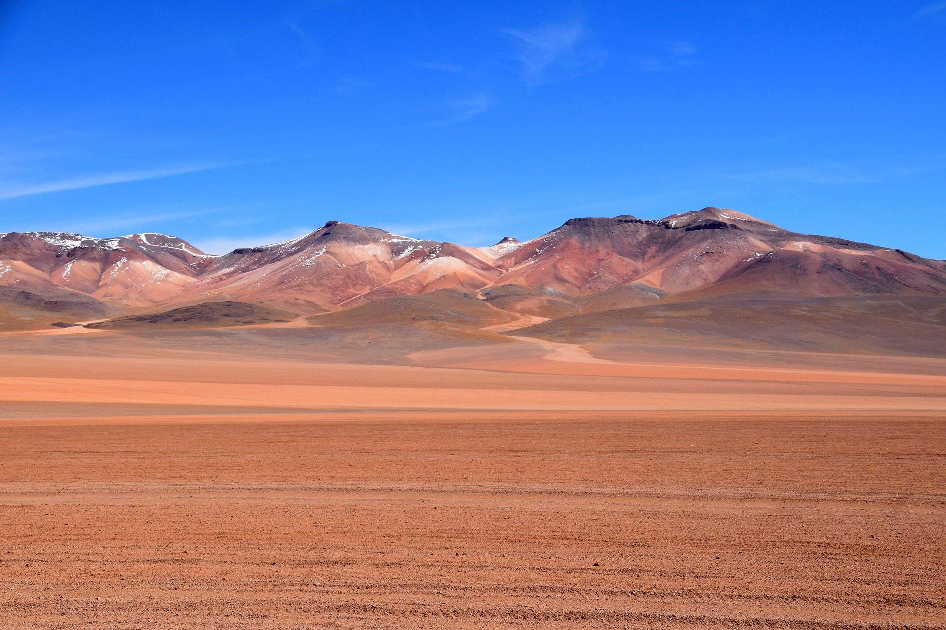 έρημο, Montañas, χιόνι, Soledad, ελευθερία, bolivia - Wallpapers HD - Professor-falken.com