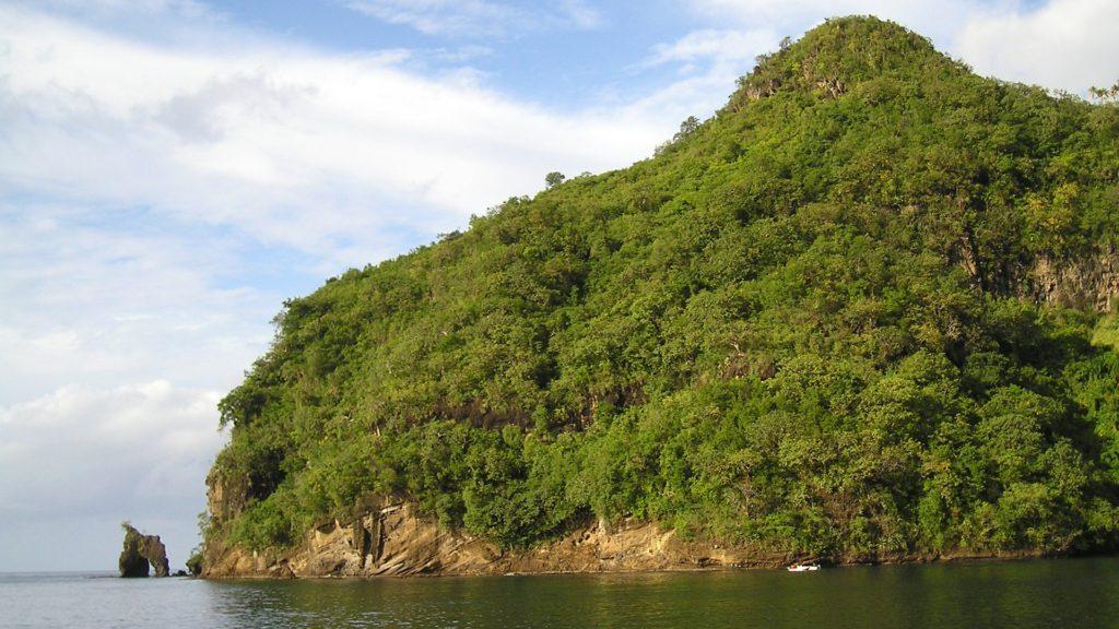 Βουνό, Παραλία, Θάλασσα, βλάστηση, Καραϊβική, 1703261704